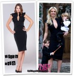 In Britney Spears' Closet - Black Halo Ruffle Dress