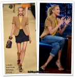 Runway To Late Night With Jimmy Fallon - Cameron Diaz In Louis Vuitton