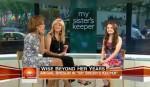 "Abigail Breslin Wears Nanette Lepore On ""The Today Show"""