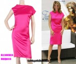 In Lori Loughlin's Closet - Alexander McQueen Fuchsia Pink dress