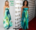 In Alicia Keys' Closet - BCBG Max Azria Strapless Gown