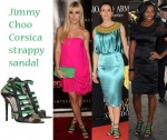 Celebrities Love...Jimmy Choo Corsica Strappy Sandals