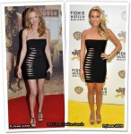Who Wore Herve Leger Better? Heather Graham or Kristin Cavallari
