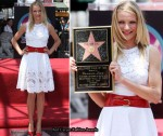 Cameron Diaz Honored On The Hollywood Walk Of Fame