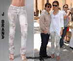In Katie Holmes' Closet - J Brand Zombie Ripped Jeans