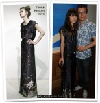 """Runway To """"The Continuing and Lamentable Saga of the Suicide Brothers"""" Screening - Keira Knightley In Erdem"""