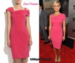 In Kristin Cavallari's Closet - Zac Posen Asymmetrical Pink Dress