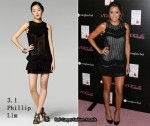 In Lauren Conrad's Closet - 3.1 Phillip Lim Chevron Ruffle Dress