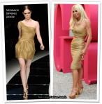 Runway To Grazia Party - Donatella Versace in Versace