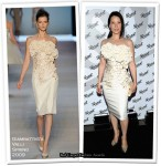 "Runway To ""Incognito Design Exhibition"" - Lucy Liu In Giambattista Valli"