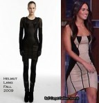 Runway To The Jimmy Kimmel Show - Megan Fox In Helmut Lang