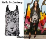 In Megan Fox's Closet - Stella McCartney Leopard Print Tank