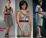 In Michelle Obama's Closet - Rachel Roy Reid Sleeveless Dress