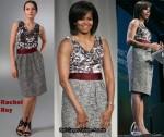 a5609e78e1c8 In Michelle Obama s Closet - Rachel Roy Reid Sleeveless Dress