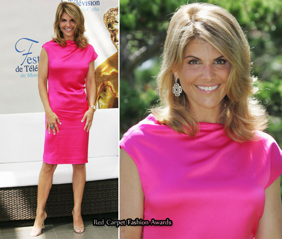 "Lori Loughlin was there to promote the hit TV series ""90210″."
