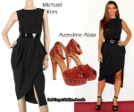 In Sandra Bullock's Closet - Michael Kors & Azzedine Alaia