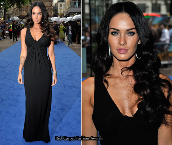 Megan Fox Red Carpet Transformers. Megan Fox covered up her legs
