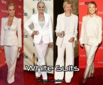 Red Carpet Trends - White Pant Suits