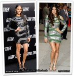Who Wore Emilio Pucci Better? Zoe Saldana or Fergie