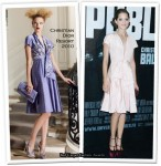 "Runway To ""Public Enemies"" Paris Premiere - Marion Cotillard In Christian Dior"