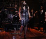 "Jordin Sparks Wears Madonna & Whitney's Dolce & Gabbana Dress On ""Late Night with Jimmy Fallon"""