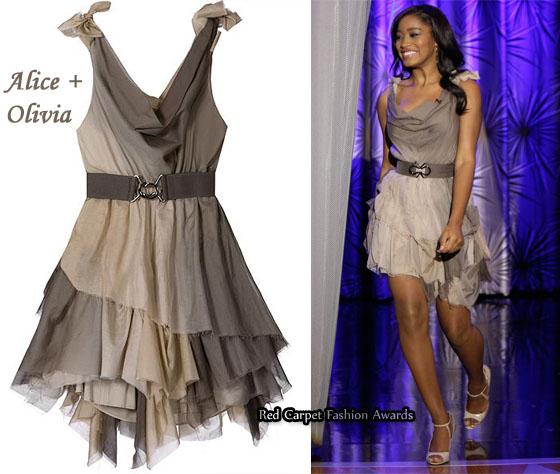 Keke Palmer wears  (Midi Dress )
