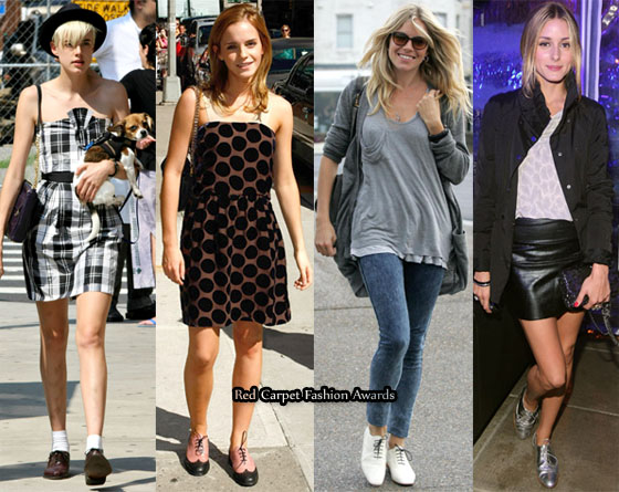 Celebrities with black dress with red shoes