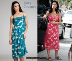 In Katy Perry's Closet - Juicy Couture Polynesian Butterfly Dress
