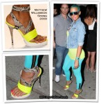 In Amber Rose's Closet - Matthew Williamson Neon Heels