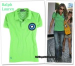 In Cheryl Cole's Closet - Ralph Lauren Fashion Targets Breast Cancer Polo Shirt