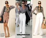 Runway To Heathrow Airport - Victoria Beckham In Loewe