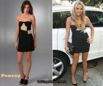 In Amanda Bynes Closet - Pencey Cummerbund Dress