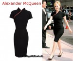 In Anna Paquin's Closet - Alexander McQueen Zip Geisha Dress