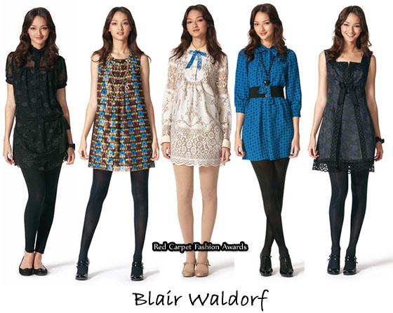 Jessica Szohr Channels Blair Waldorf Red Carpet Fashion