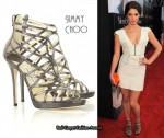 In Ashley Greene's Closet - Jimmy Choo Verity Multi Strap Sandals