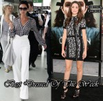 Best Dressed Of The Week - Victoria Beckham In Loewe & Emmy Rossum In Phi