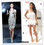 "Runway To ""Malaria No More"" White Party - Cassie In Alexander Wang"