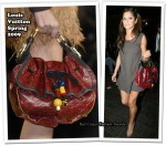 Runway To LAX - Cheryl Cole Carrying A Louis Vuitton Monogram Epices Kalahari Bag
