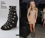 In Chloe Sevigny's Closet - Chloe Sevigny for Opening Ceremony Multi Buckle Wedge Booties