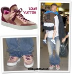 In David Beckham's Closet - Louis Vuitton Sneakers