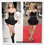 "Runway To ""Inglourious Basterds"" London Premiere - Diane Kruger In Balmain"