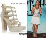 In Emma Watson's Closet - Giuseppe Zanotti Platform Gladiator Sandals