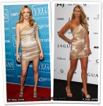 Who Wore Herve Leger Better? Heather Graham or Elle MacPherson