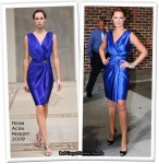 """Runway To The """"Late Show With David Letterman"""" - Katherine Heigl In Reem Acra"""