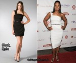 In Laila Ali's Closet - Black Halo One Shoulder Dress