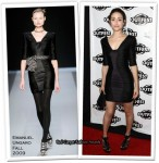 "Runway To ""Dare"" Premiere - Emmy Rossum In Emanuel Ungaro"