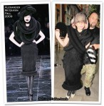 Runway To Sidewalk - Lady GaGa In Alexander McQueen