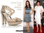 Lucy Liu's Obsession - Jimmy Choo Idol Platform Heels