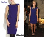 In Maria Sharapova's Closet - Thakoon Wool Crepe Shift Dress