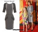 In Meg Matthew's Closet - Antonio Berardi Grey Tweed Dress